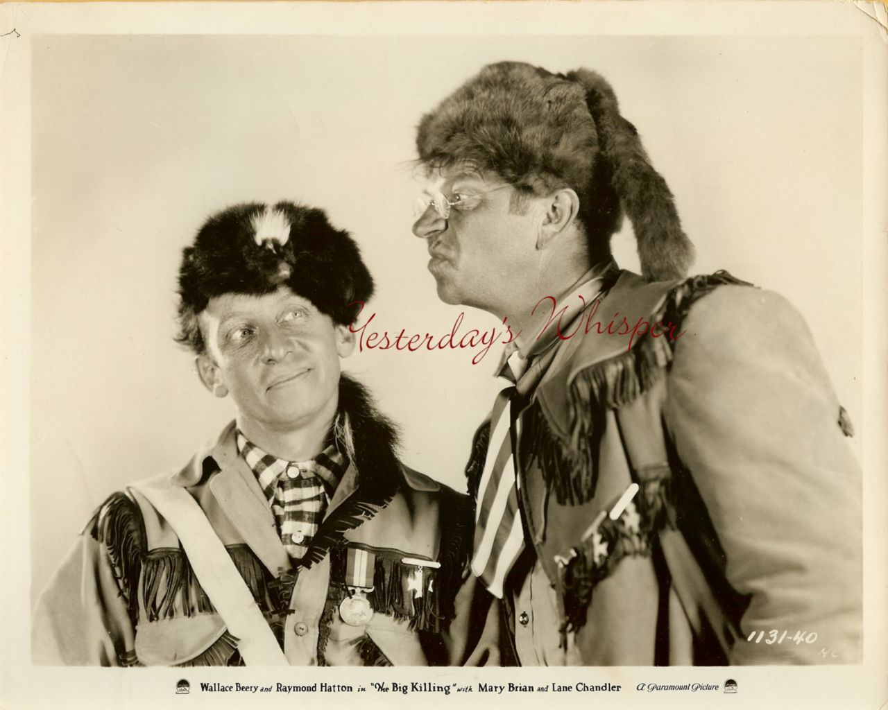 Wallace Beery Wallpapers See the small card with the code on it The seller printed that out
