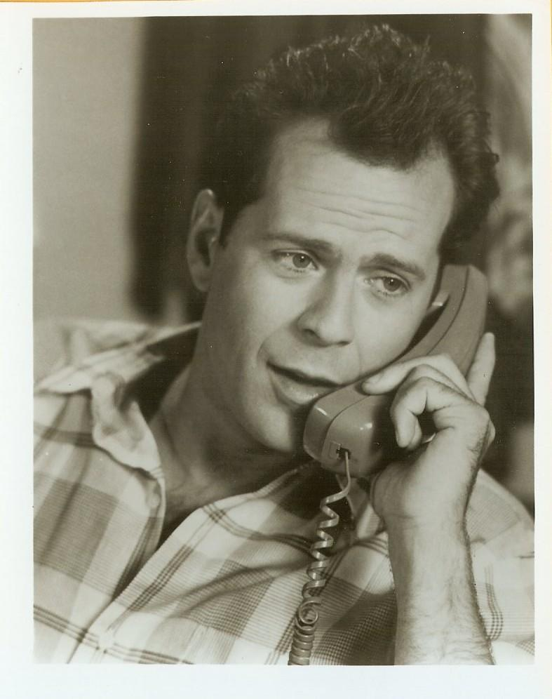 "Bruce Willis Young 1980's Small 4x5"" Publicity PHOTO ..."
