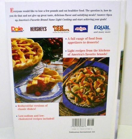 Image 1 of America's Favorite Brand Name Light Cooking 1998 HC New