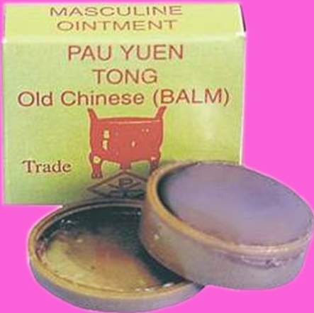 Pau Yuen Tong Old Chinese Balm Erection Orgasm Delay