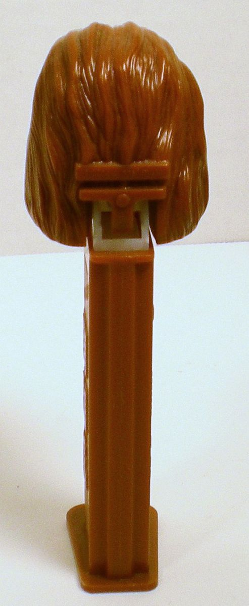 Image 2 of Star Wars Chewbacca Pez closed mouth marked 2004 LucasFilm Ltd