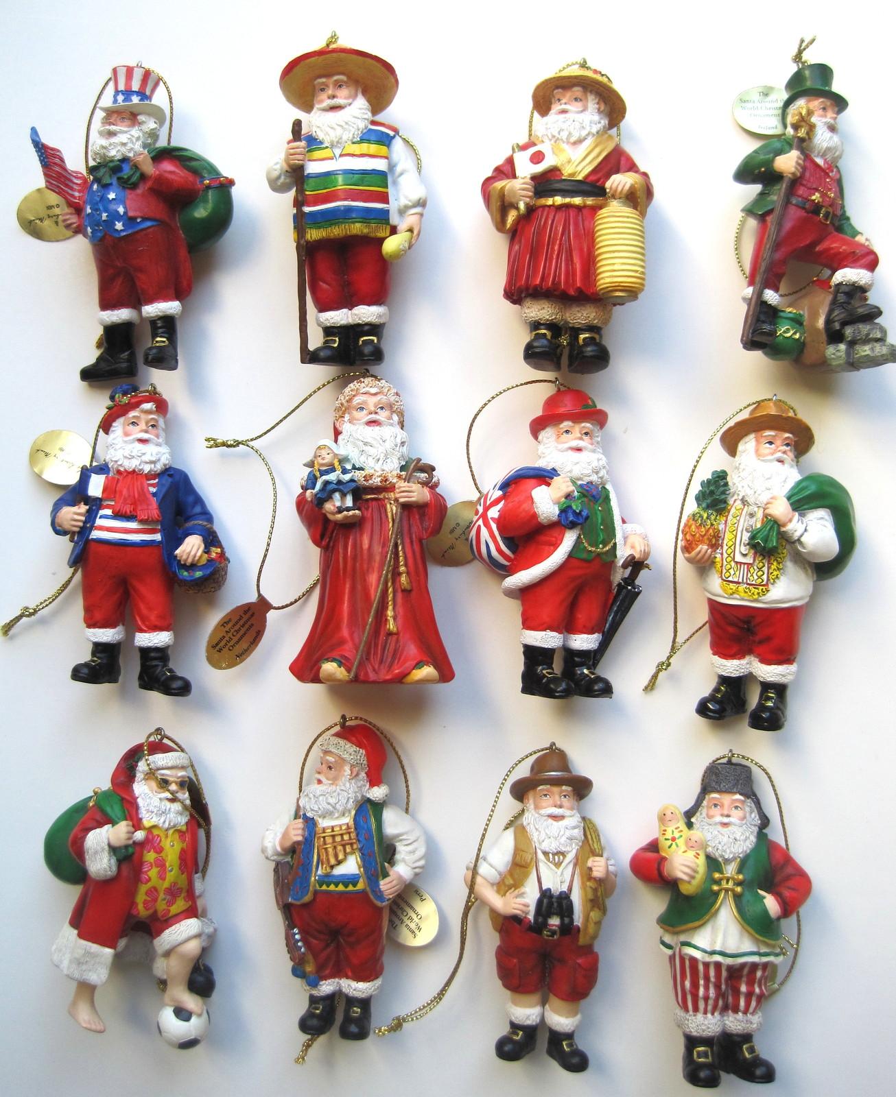 Danbury Mint The Santas Around The World Christmas ...