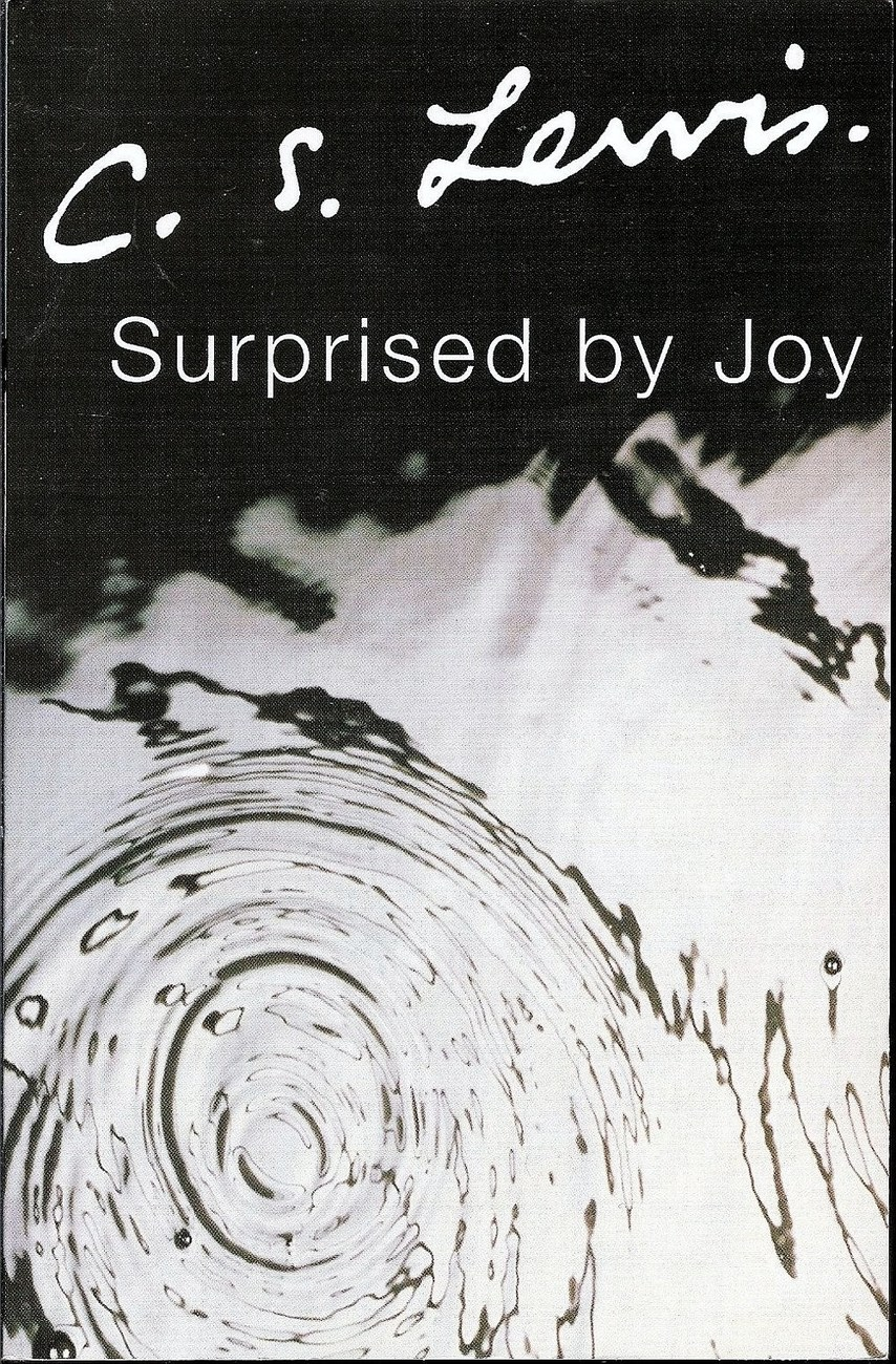 Surprised by Joy by CS Lewis autobiographical 2002 edition PB