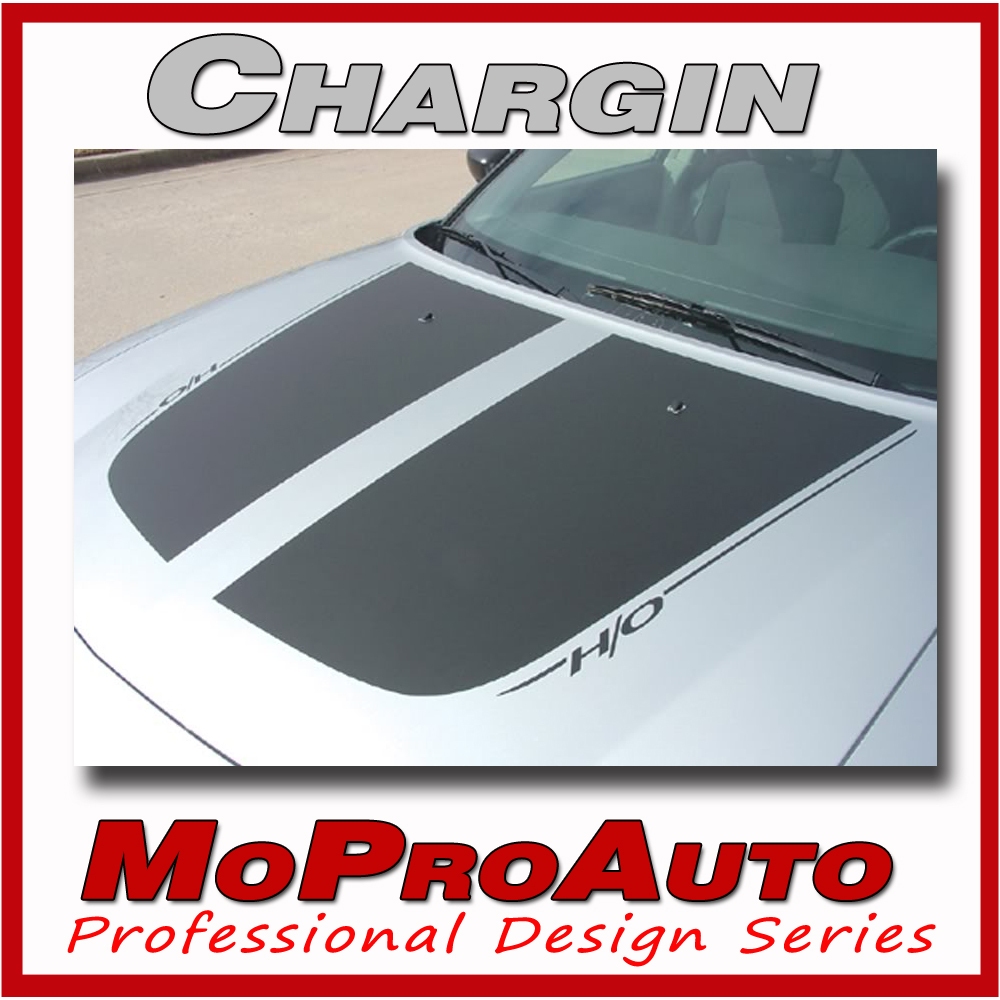 *2007 Dodge Charger GRAPHICS STRIPES Hood Rear Decals 3M PRO Grade Vinyl 416