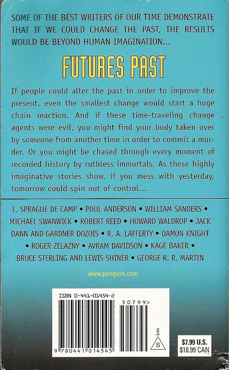 Image 1 of Futures Past edited by Jack Dann & Gardner Dozois PB 2006