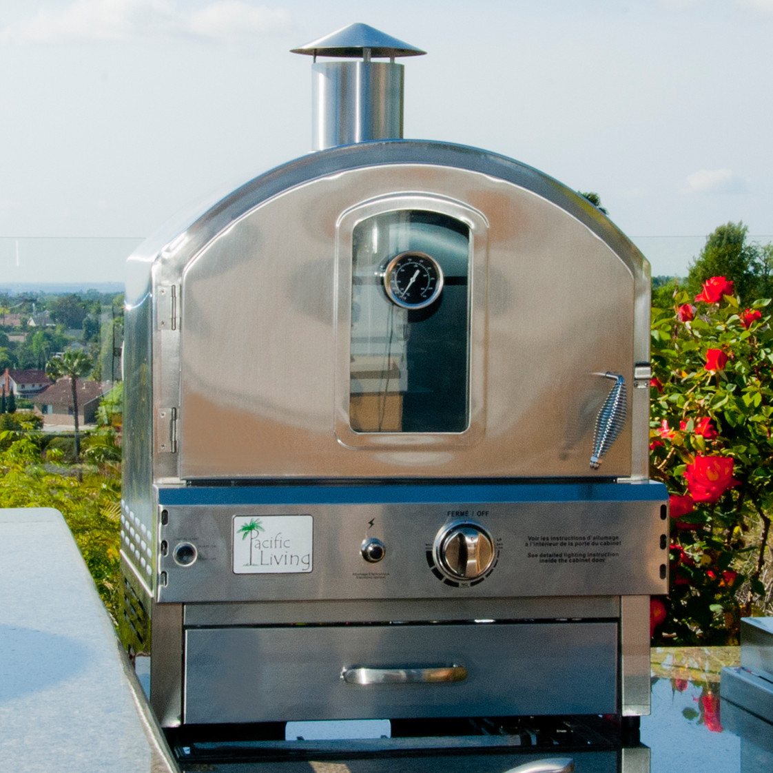 Pacific Living : Ovens: Outdoor Pizza Oven