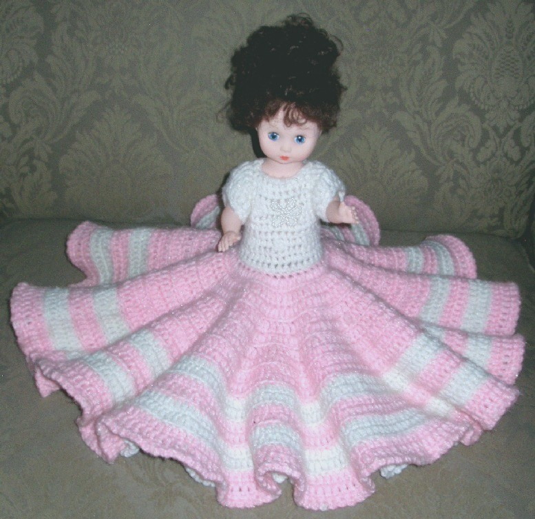 13_in_Pink_Crochet_Outfit_Blue ...