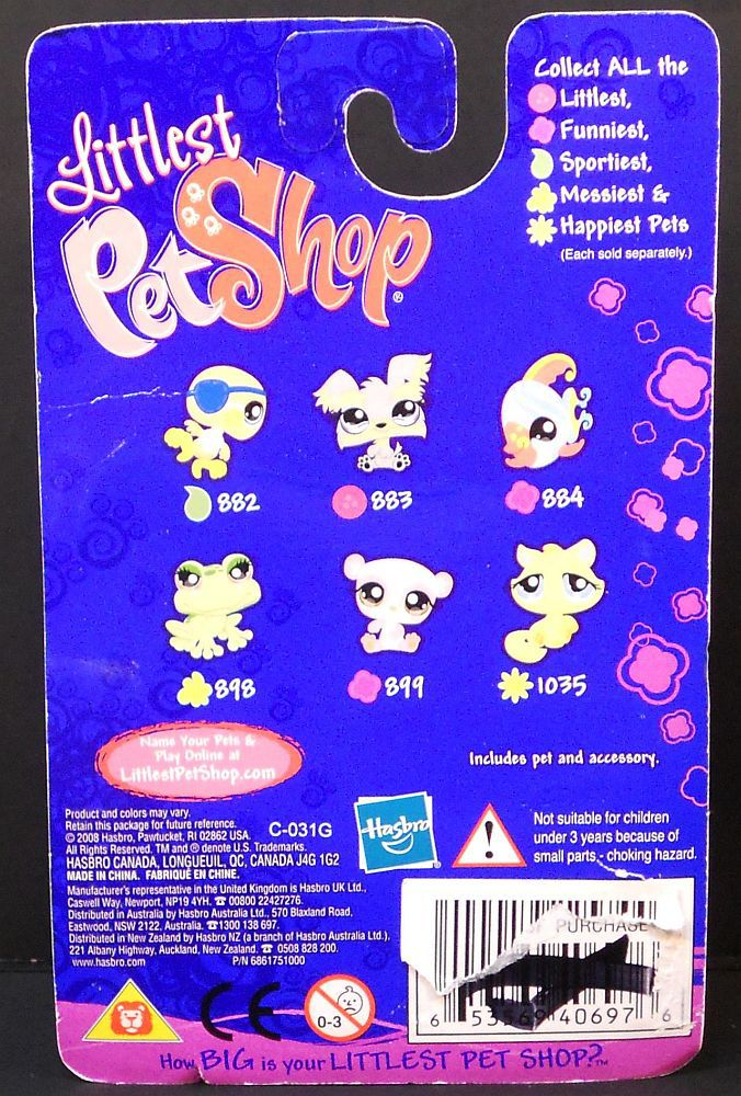 Image 3 of Littlest Pet Shop Panda 899 Funniest megaphone brown eyes