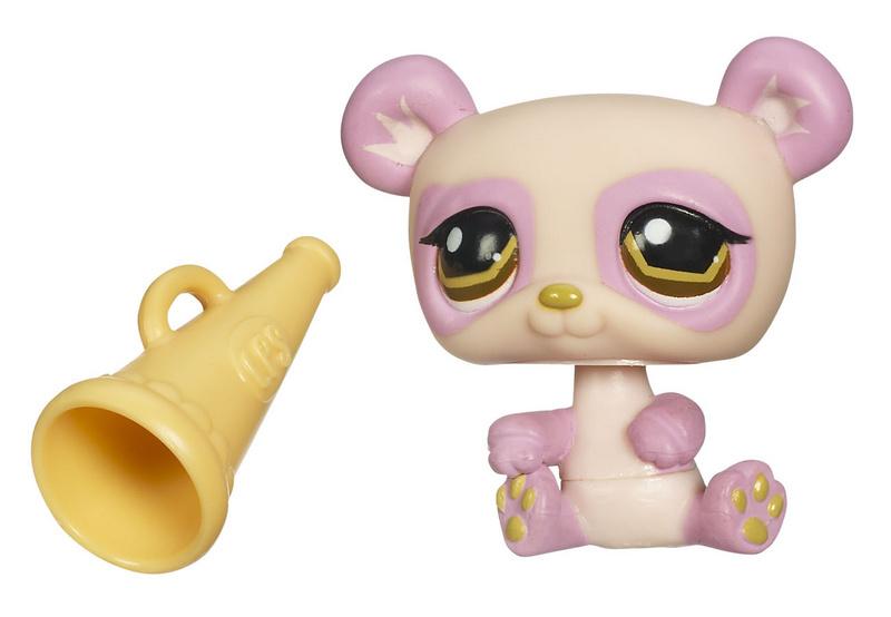 Image 1 of Littlest Pet Shop Panda 899 Funniest megaphone brown eyes