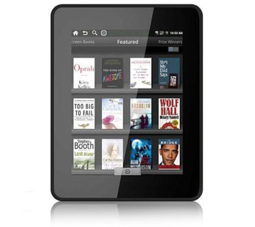 "Velocity micro cruz Google Android Tablet & E-Reader With 7"" Color Touch-Screen"