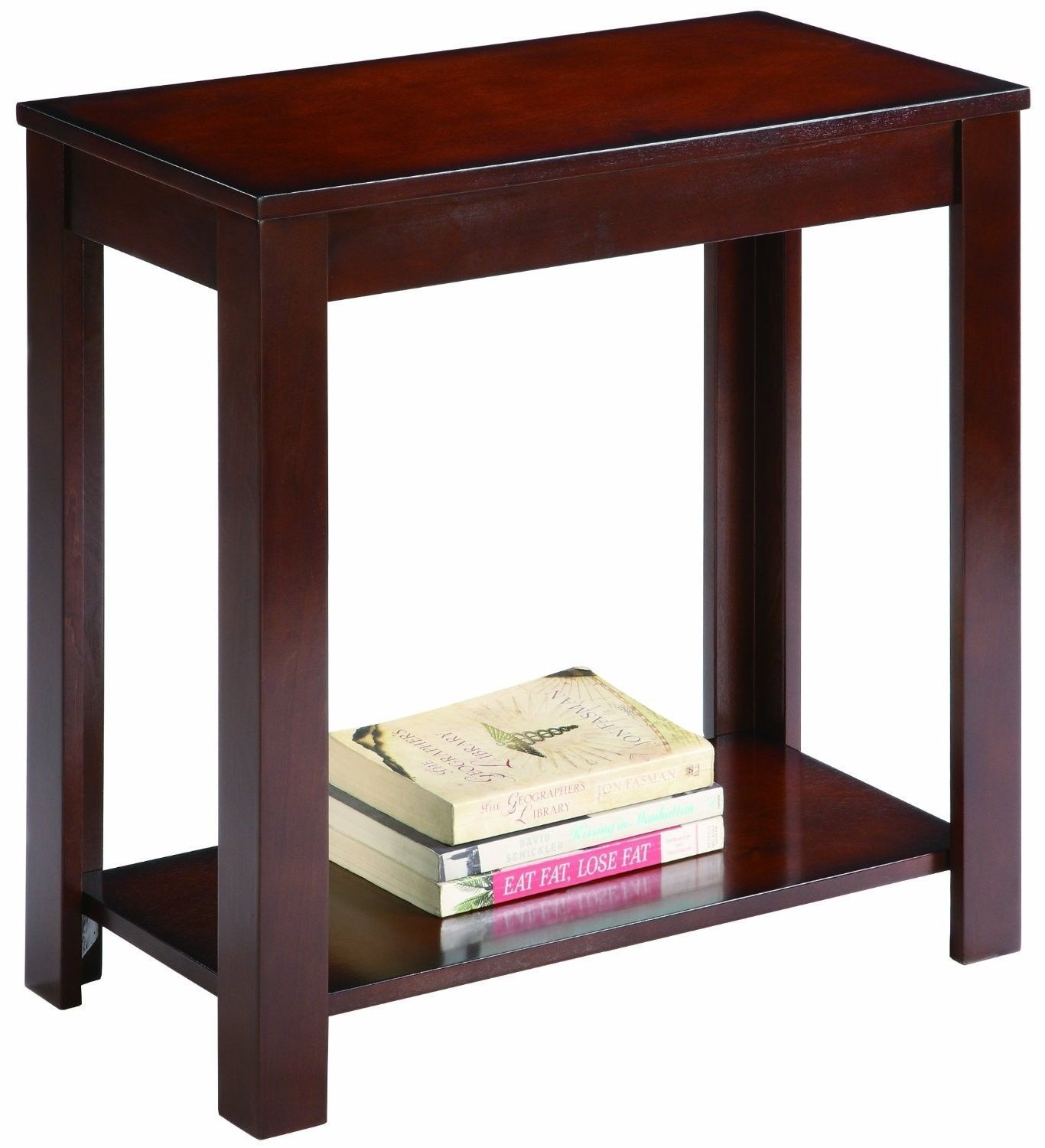side table living dining room furniture den sturdy espresso tables