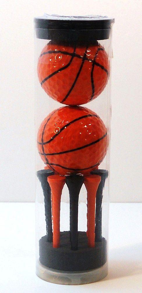 '.Basketball Novelty Golf Balls.'