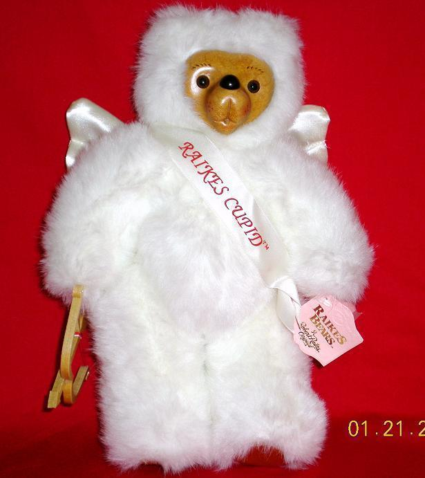 Robert Raikes Bear Cupid Valentine's Day 1991