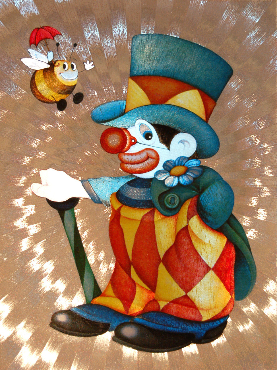 654436_clown_with_bee