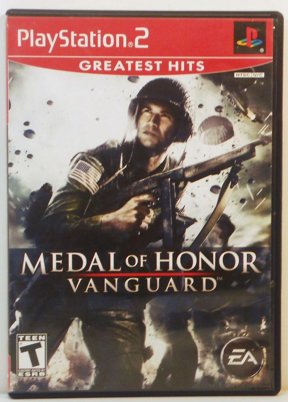Medal of Honor Vanguard Playstation 2 video game 2007