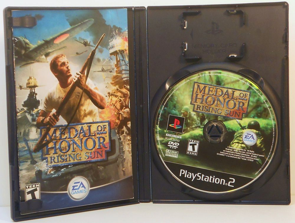 Image 2 of Medal of Honor Rising Sun Sony Playstation 2 video game 2003