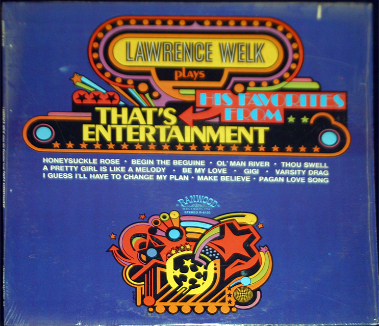 "Lawrence Welk  ""That's Entertainment""  LP"
