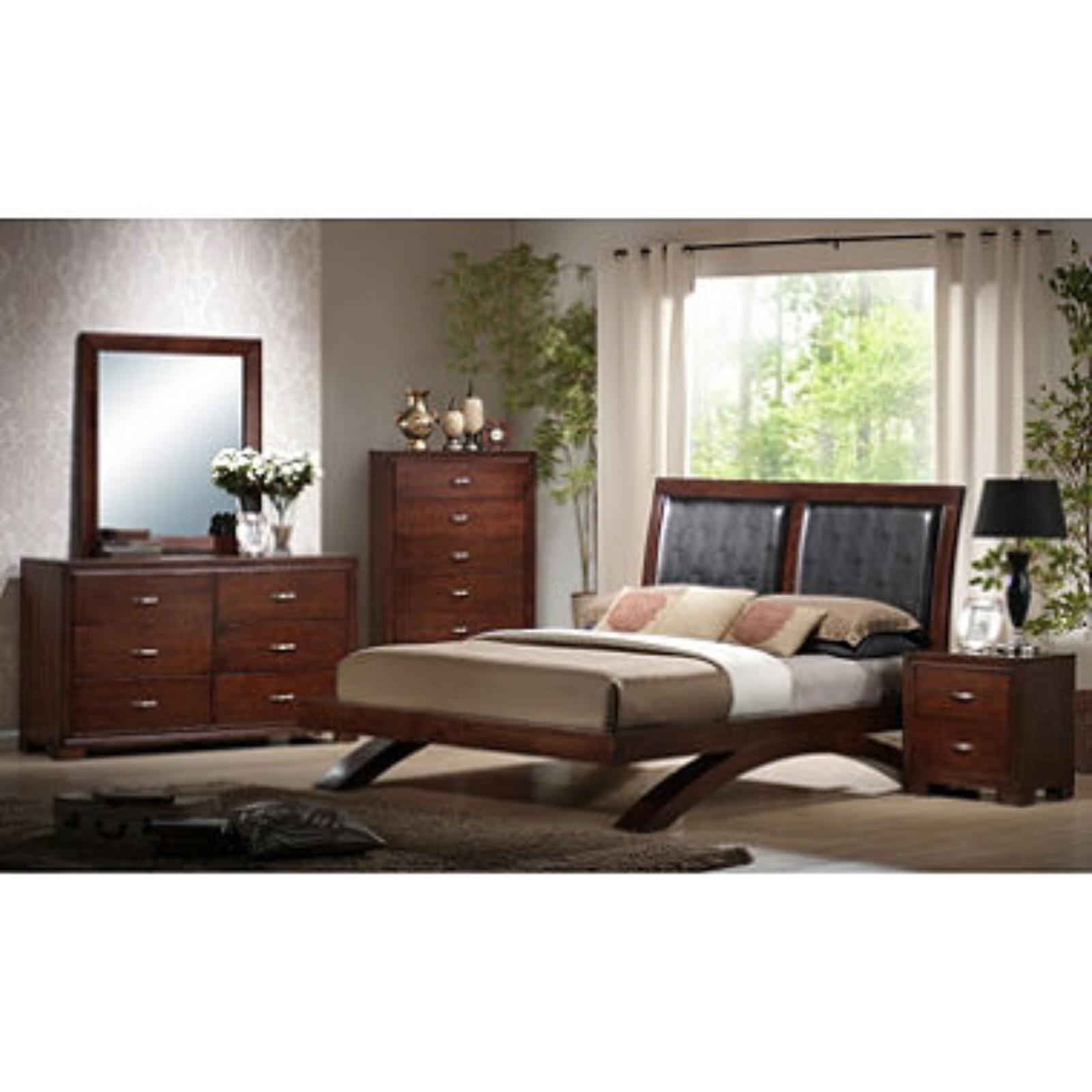 Zoe bedroom 6 pc set queen bedroom furniture new bed for 6 bedroom