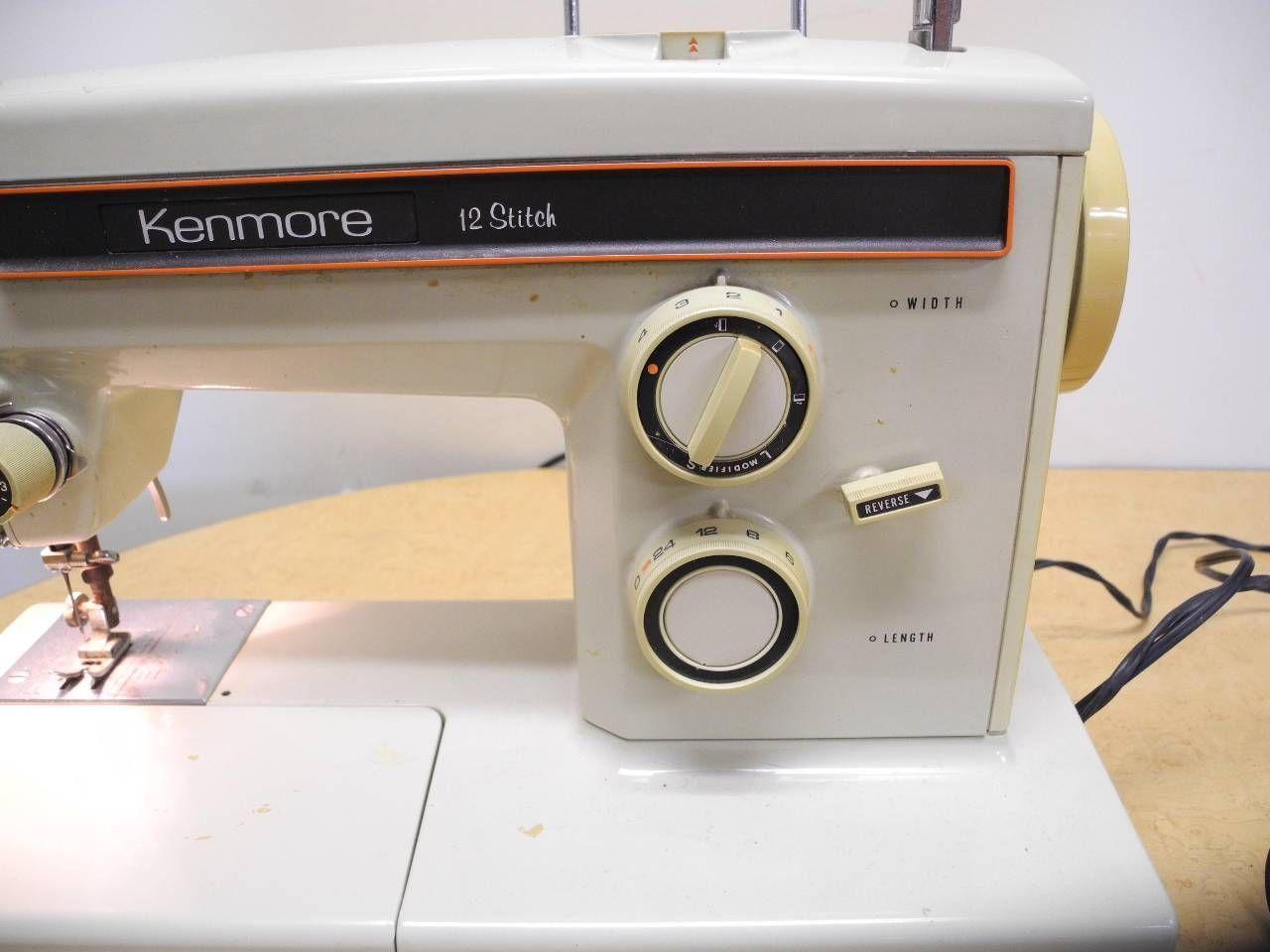 kenmore 12 sewing machine