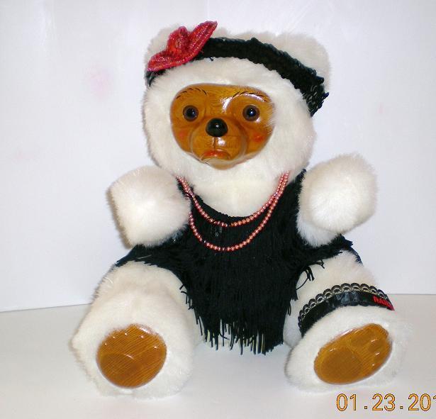 Image 2 of Robert Raikes Bear Zelda Ed 3 1986 Glamour Bears