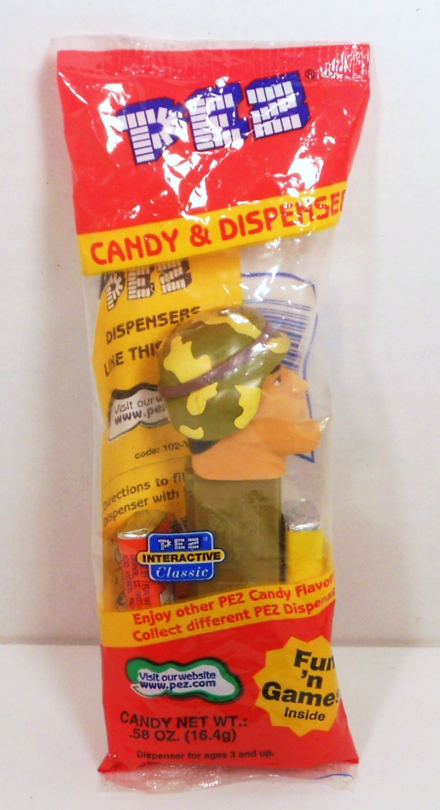 Emergency Heroes Army Ranger Pez 2003 in package Slovenia