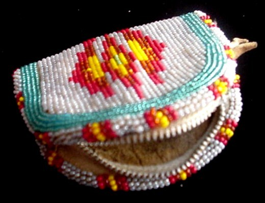 Native American Beaded Coin Purses