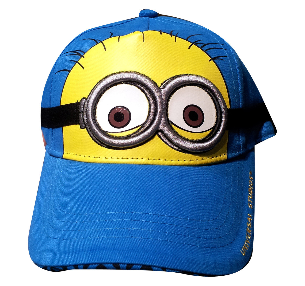 Despicable Me Kids Youth Blue Baseball Hat Two Eyed Minions Universal Studios