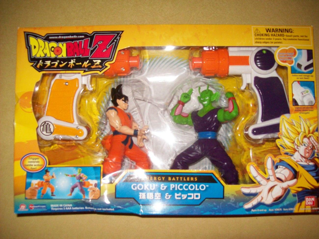 FREE SHIP goku vs piccolo energy battlers toy figures bandai nib open to offers