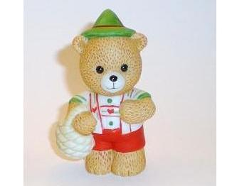 Bronson Figurine Bear Hans Yodels by Katharine Stevenson