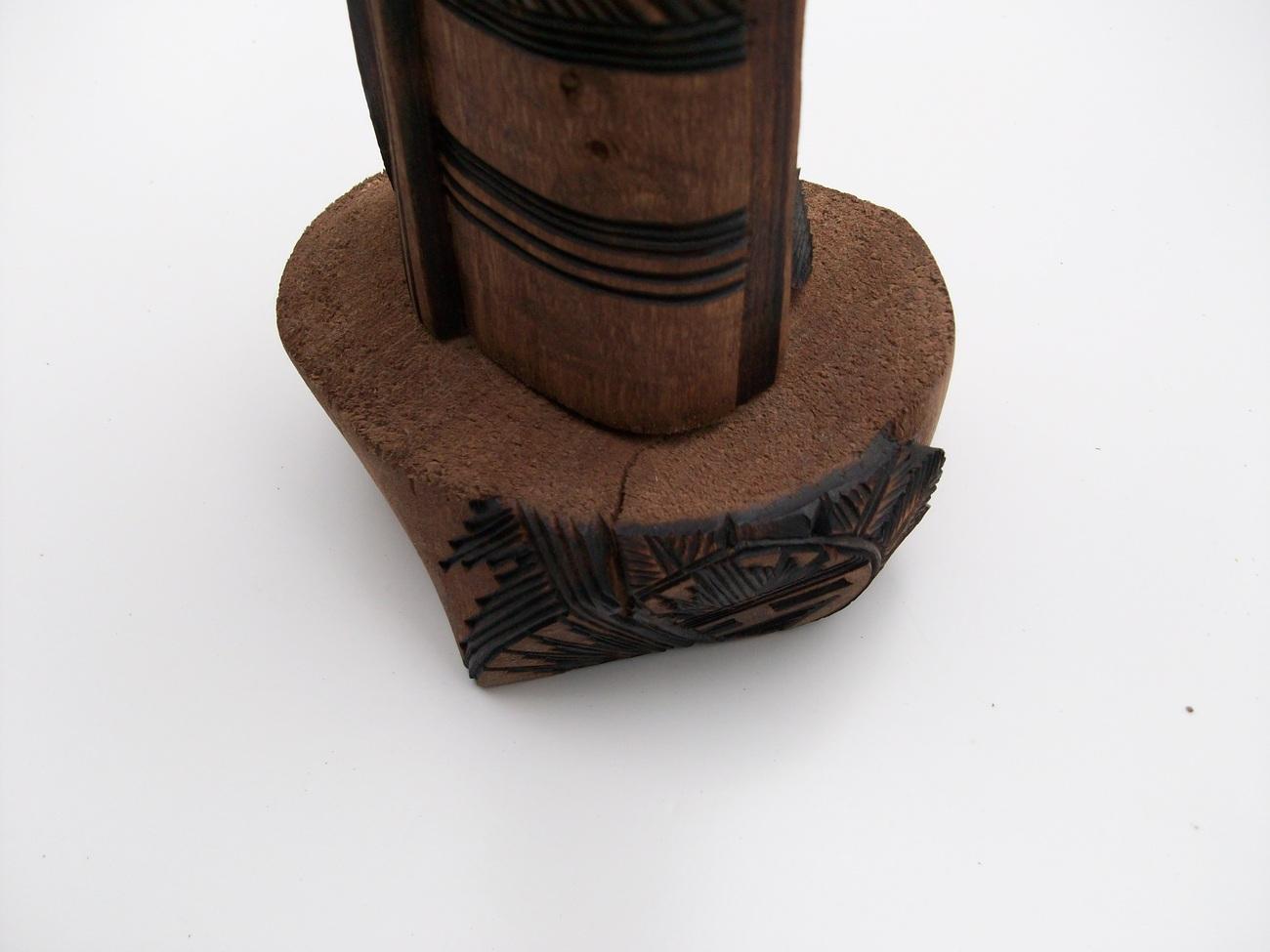Navajo carving long hair kachina jerrold guy