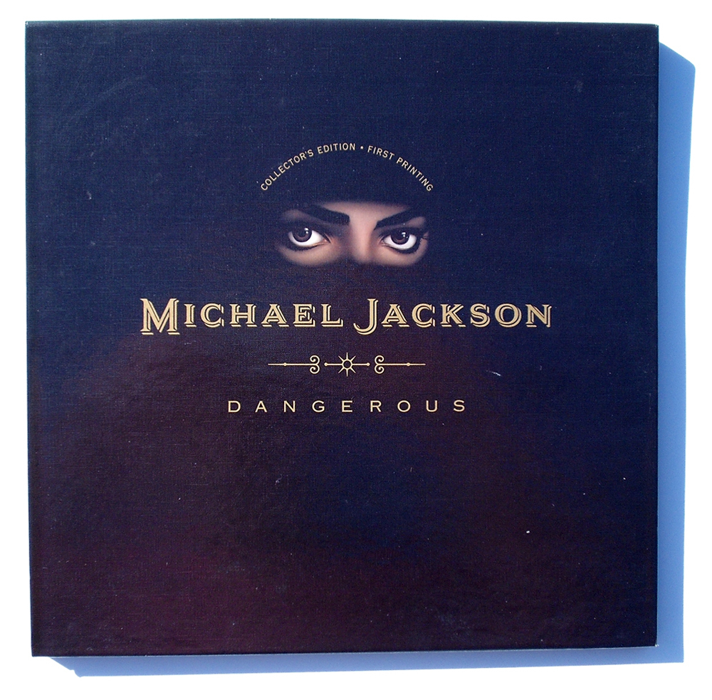 MICHAEL JACKSON'S DANGEROUS COLLECTOR'S FIRST EDITION