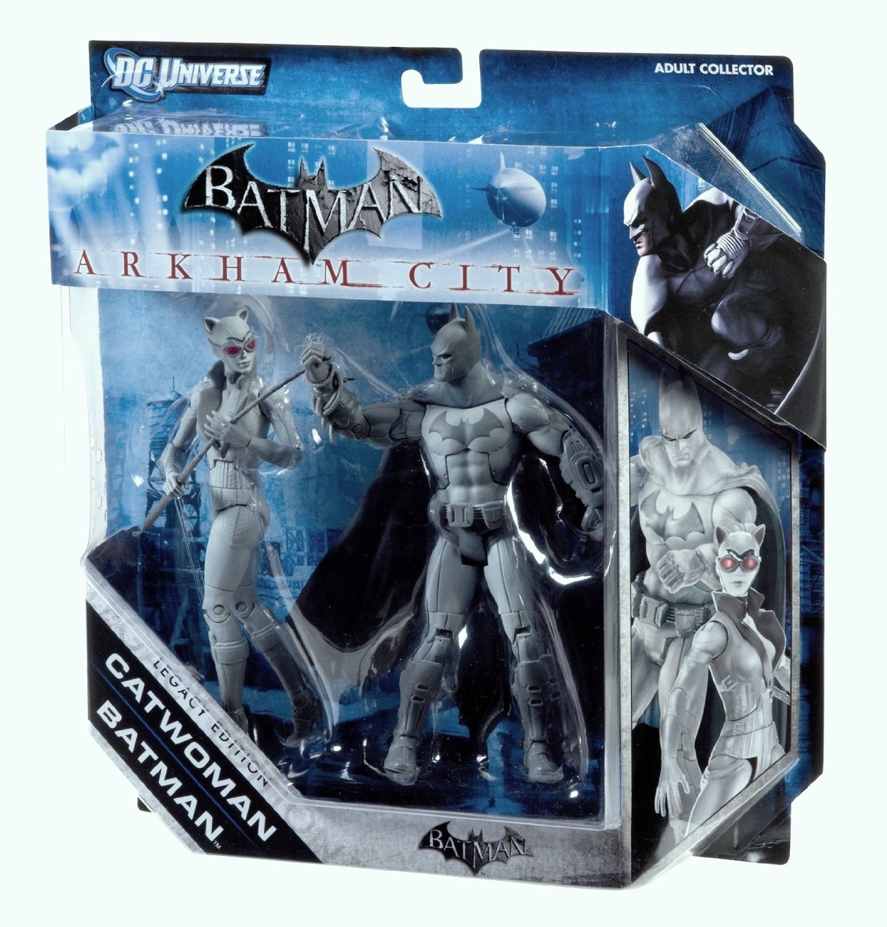 DC Universe Legacy Edition Black white gray set