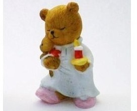 Bronson Figurine Bear Sleepy Sally by Katharine Stevenson