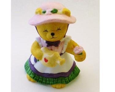 Bronson Figurine Bear Springtime Tammy Katharine Stevenson 1991