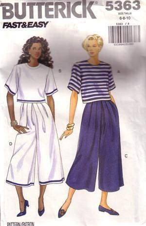 Split Skirt Patterns Free Patterns