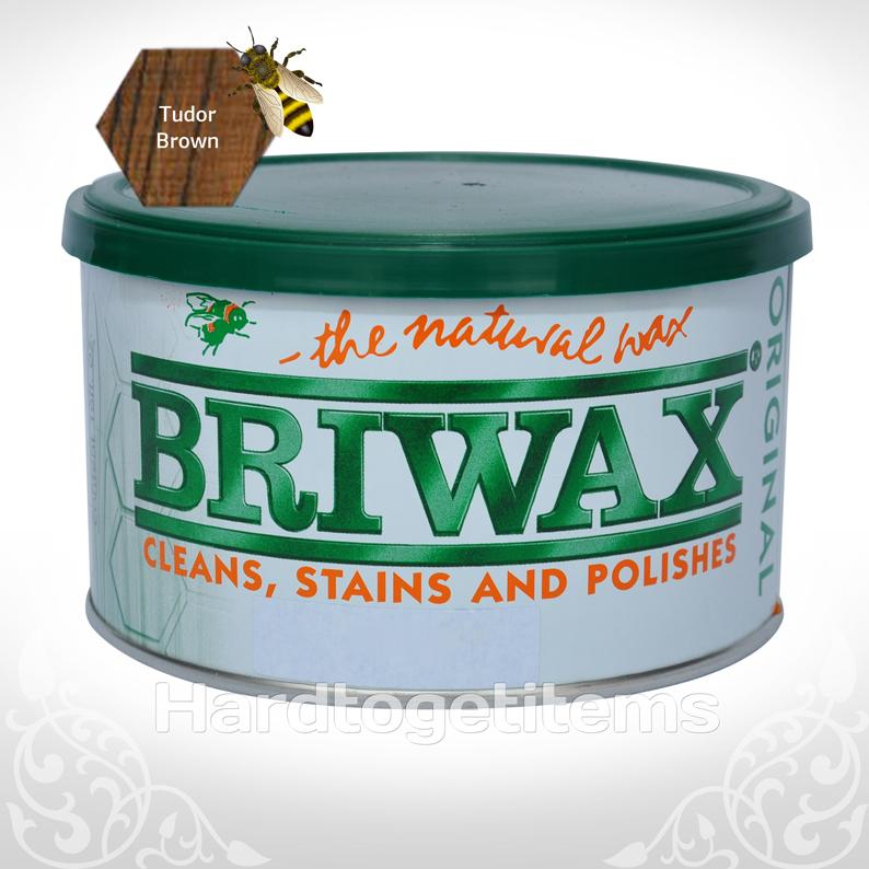 Concrete Paste Wax : Briwax original wax polish tudor brown furniture