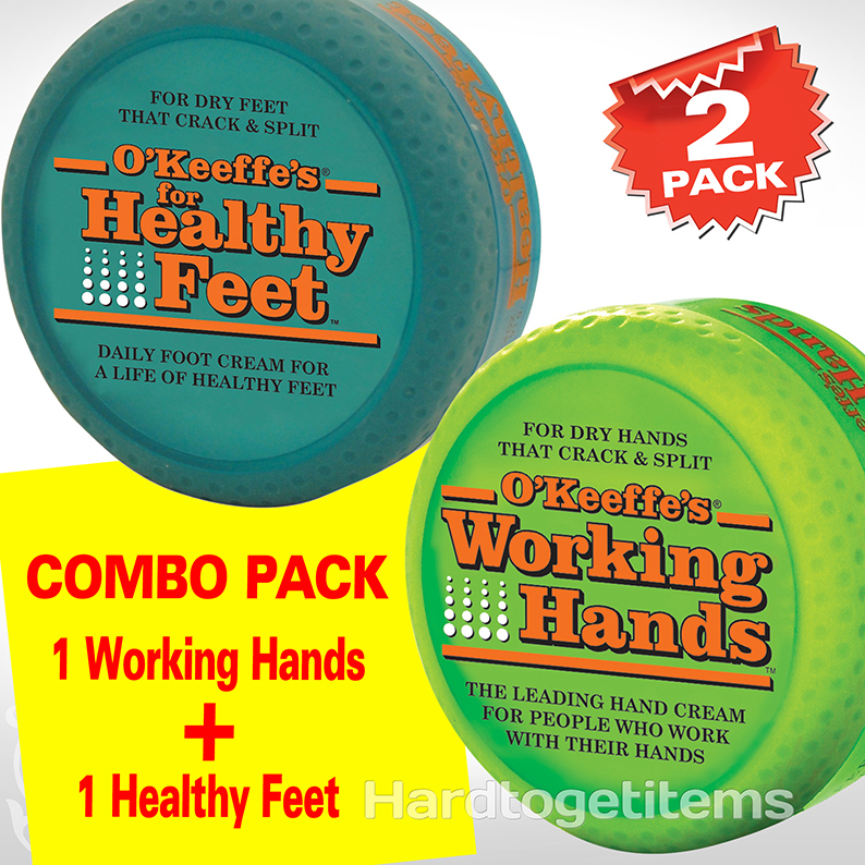 working hands cream o keeffe s working amp healthy combo 2 pack 10710