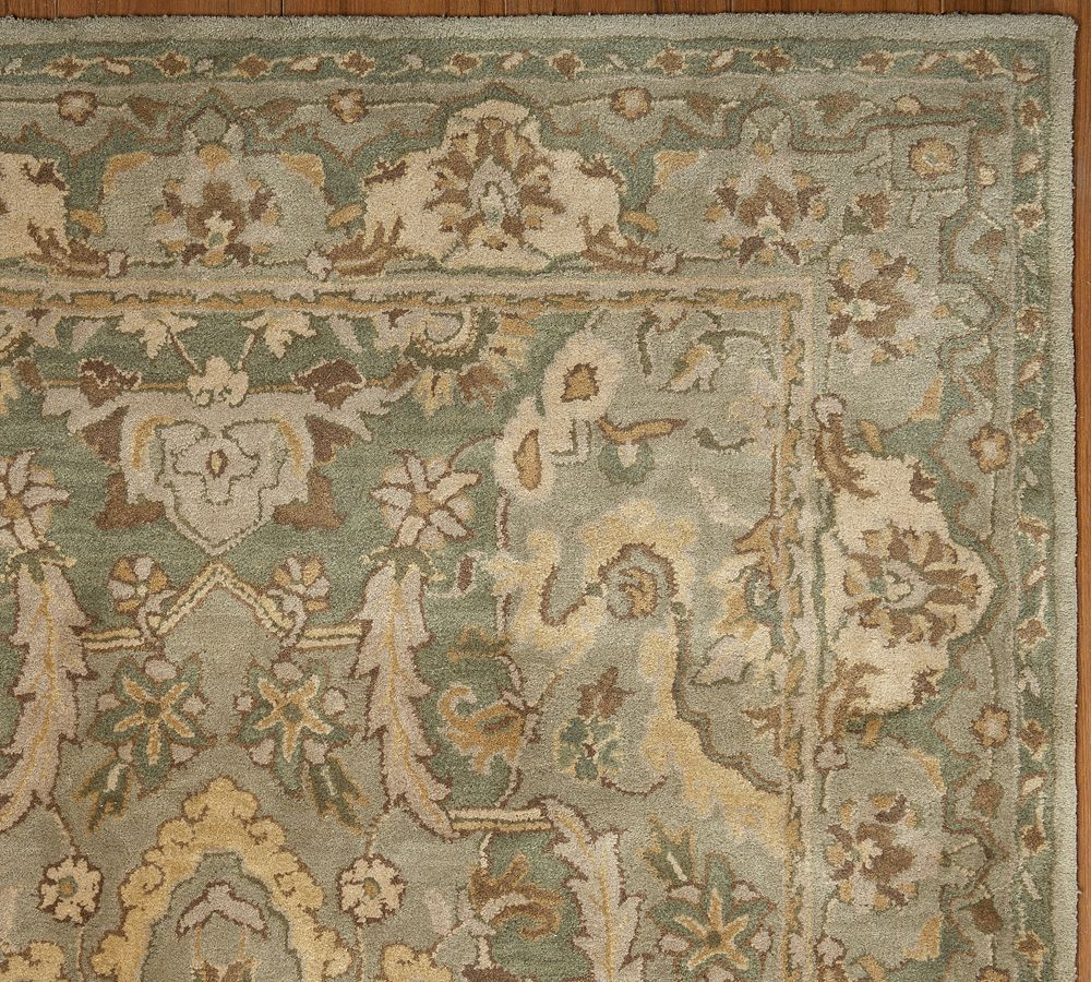 Sale Brand New Pottery Barn THYME Persian Style Woolen Area Rug Carpet 8X10