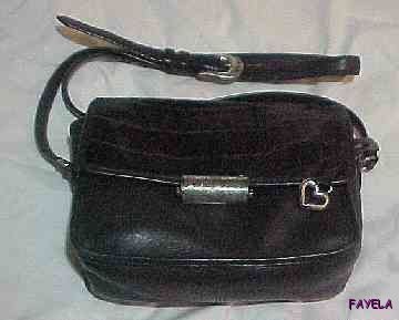 Authentic Vintage Brighton Shoulder Bag/Purse Black