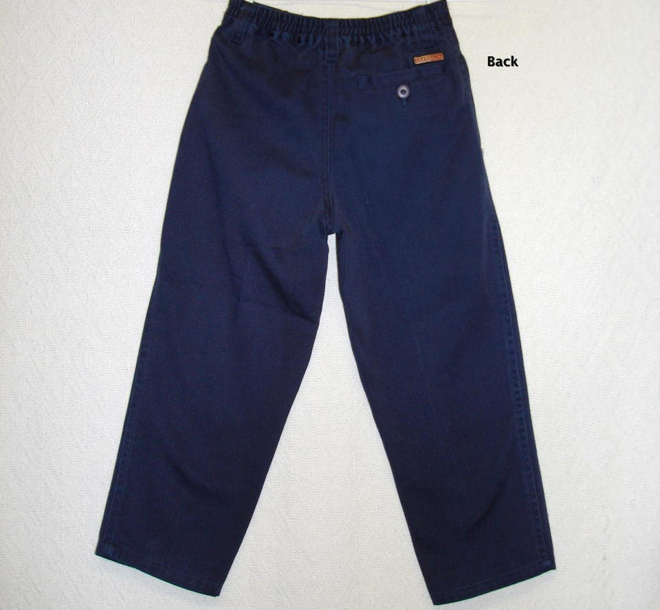 Click picture to enlarge for Boys pants and shirts