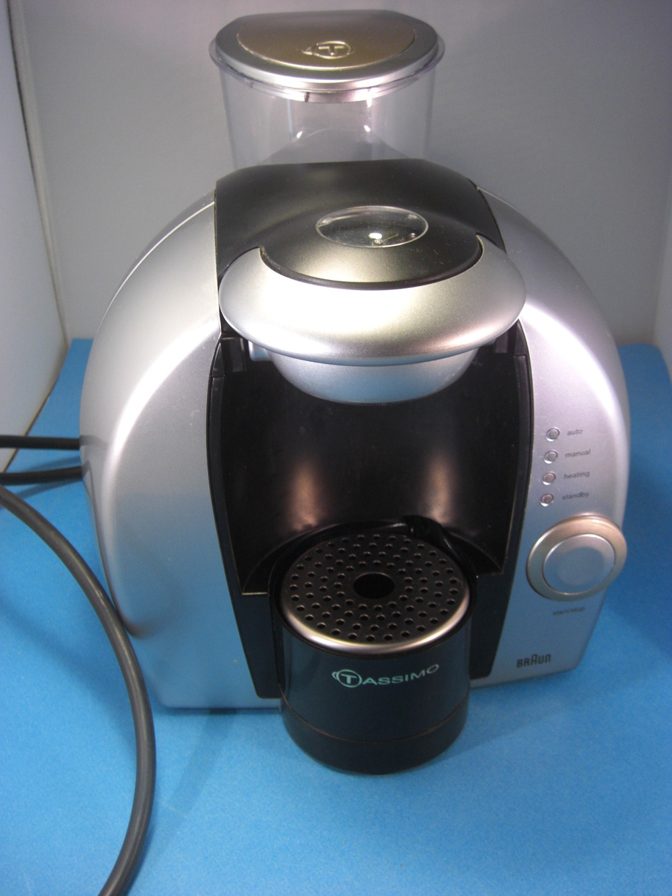 Coffee Maker Braun Tassimo : Braun Tassimo One Cup Coffee Maker Model 3107 - Coffee Makers