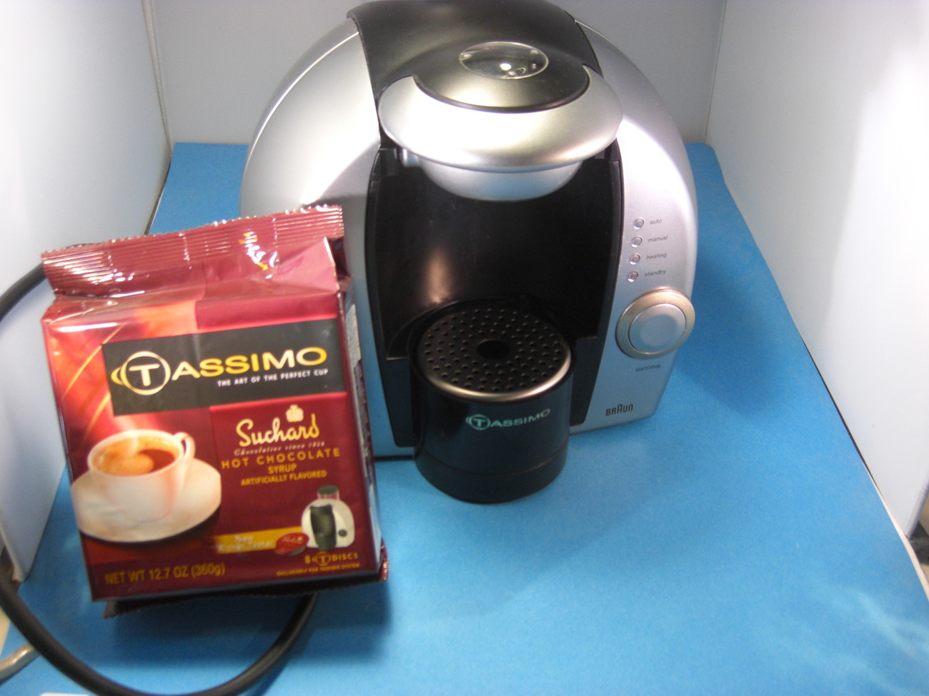 Bosch Tassimo Coffee Maker Models : Braun Tassimo One Cup Coffee Maker Model 3107 - Coffee Makers