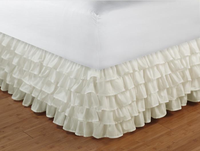 Full Size Bed Skirt 73