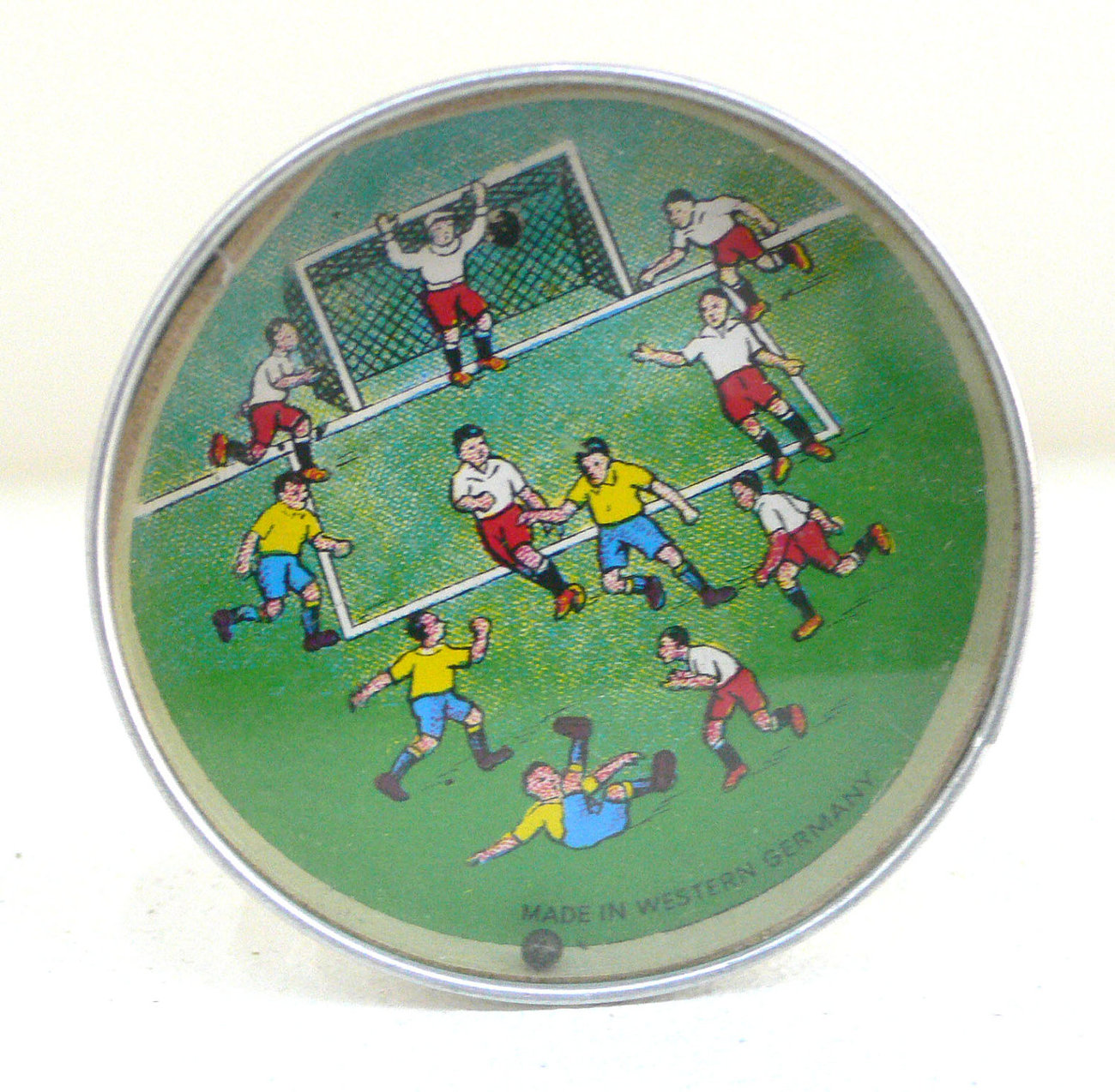 Vintage Dexterity Game FOOTBALL SOCCER FUSSBALL West Germany 1960's