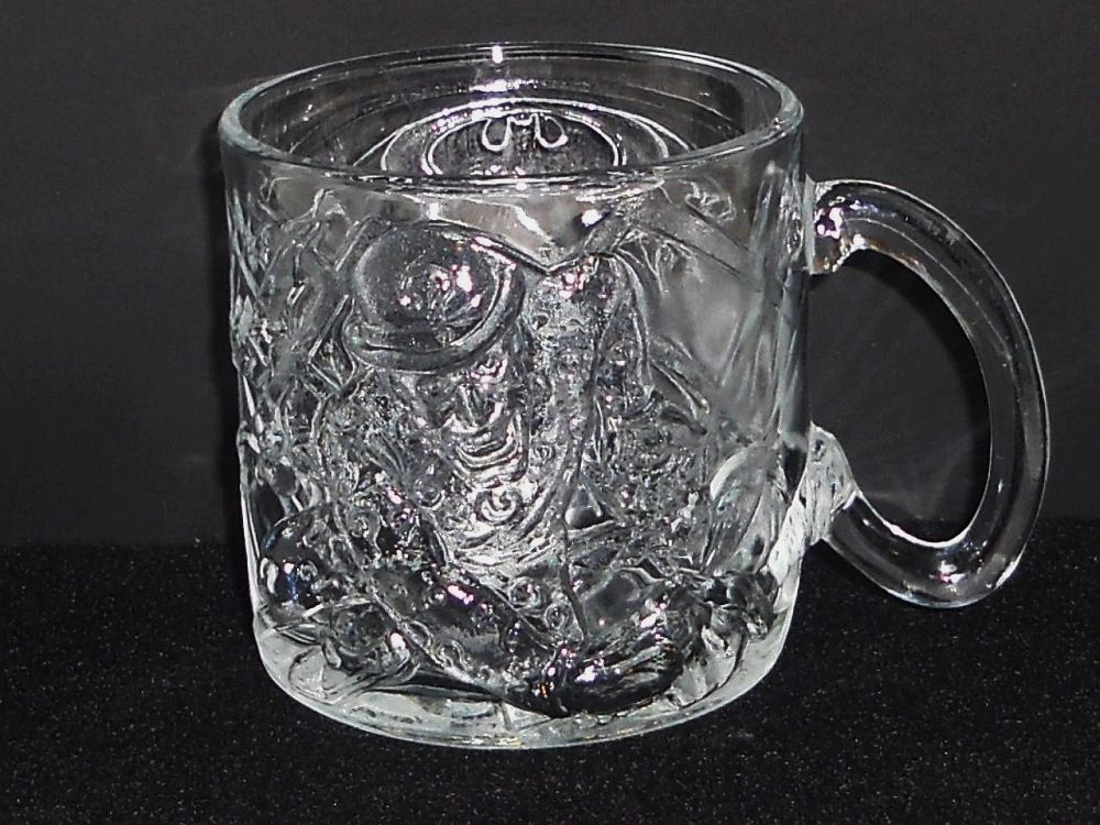 Batman Forever The Riddler Mug McDonald's glass 1995