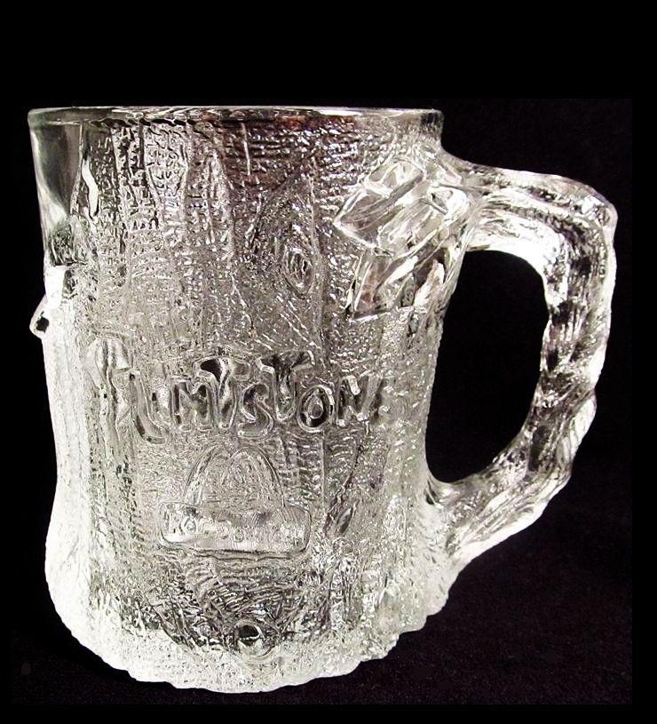 Flintstones TreeMendous Mug McDonald's glass 1993