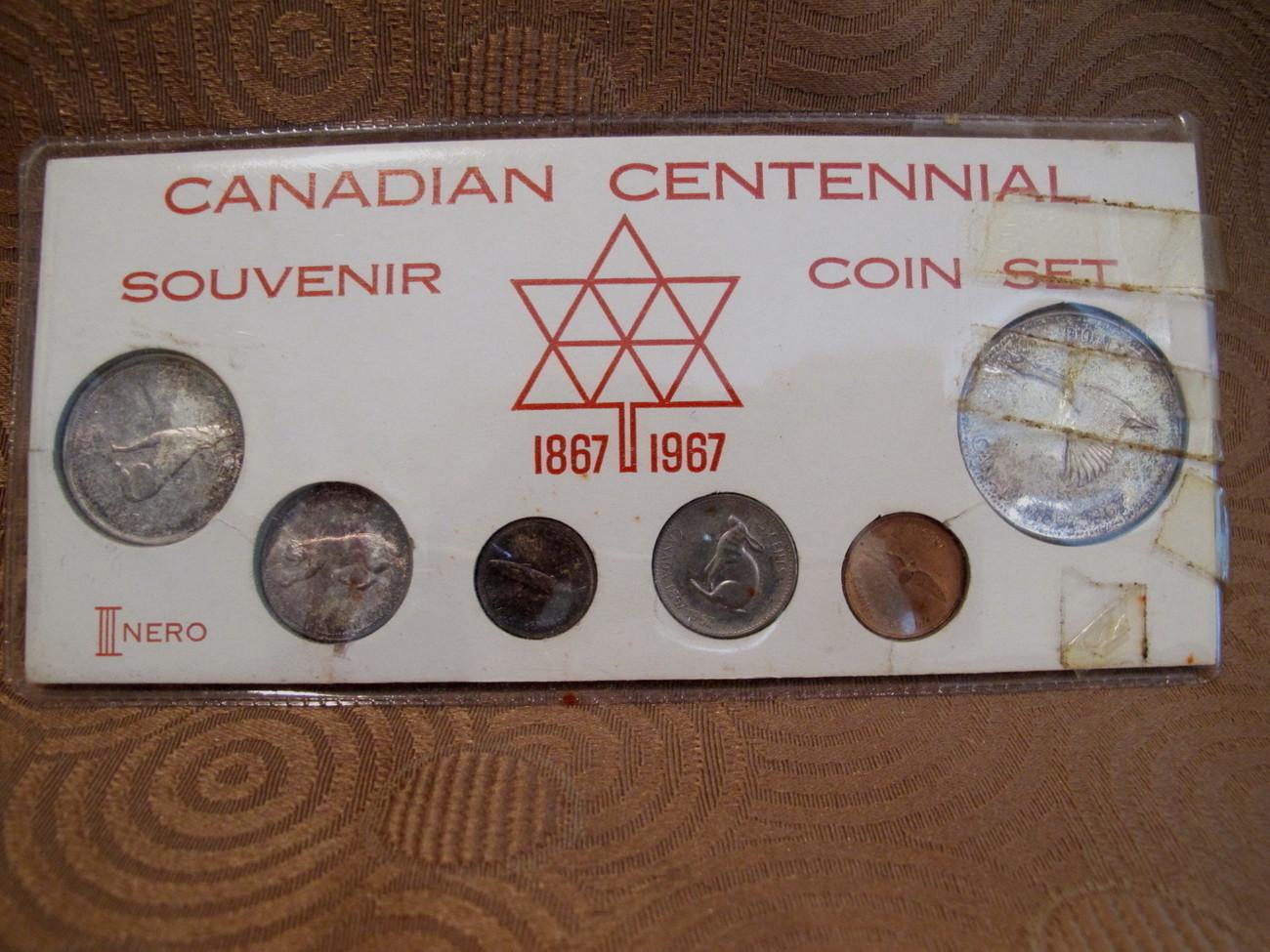 canadian centennial coin set
