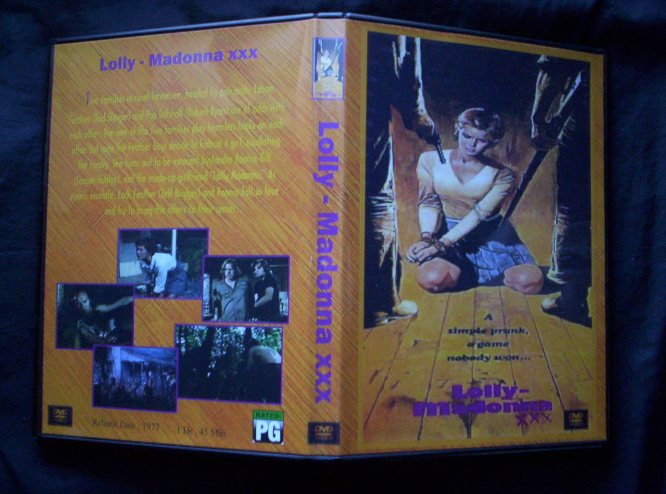 LOLLY MADONNA XXX DVD 1973