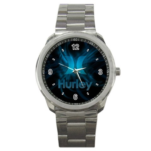 hurley custom sport metal wristwatches
