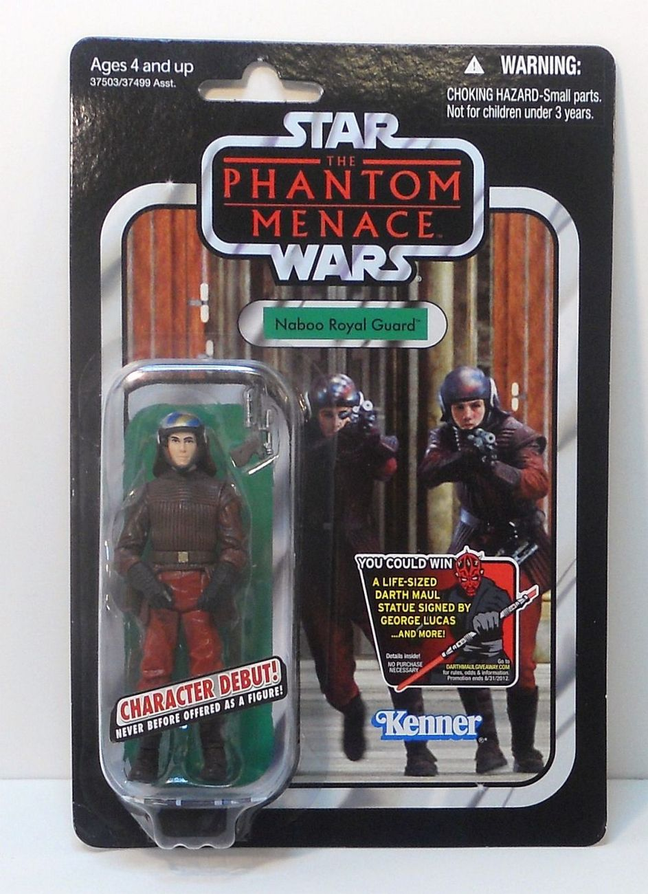 Star Wars Naboo Royal Guard Vintage Collection VC83 The Phantom Menace